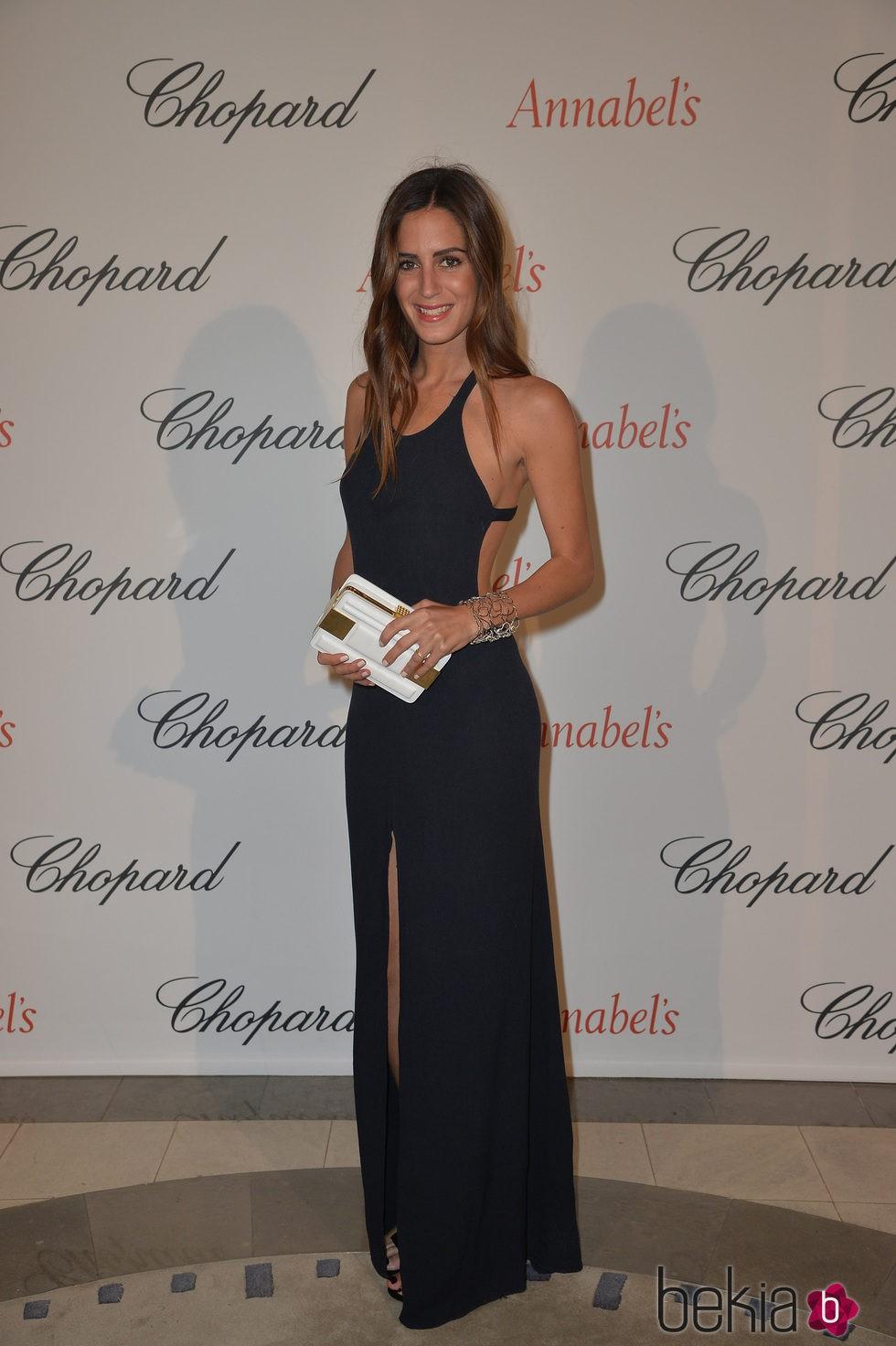 Gala González en la fiesta Chopard Annabel's del Festival de Cannes 2015