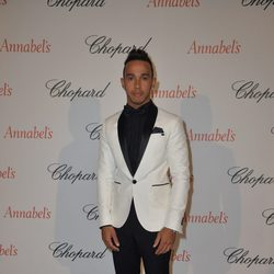 Lewis Hamilton en la fiesta Chopard Annabel's del Festival de Cannes 2015