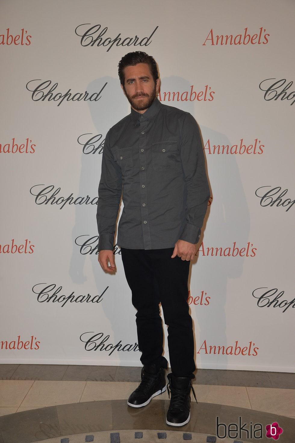 Jake Gyllenhaal en la fiesta Chopard Annabel's del Festival de Cannes 2015