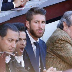 Sergio Ramos en una corrida de toros