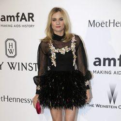 Diane Kruger en la gala amfAR del Festival de Cannes 2015