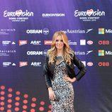 Edurne en la ceremonia de apertura del Festival de Eurovisión 2015