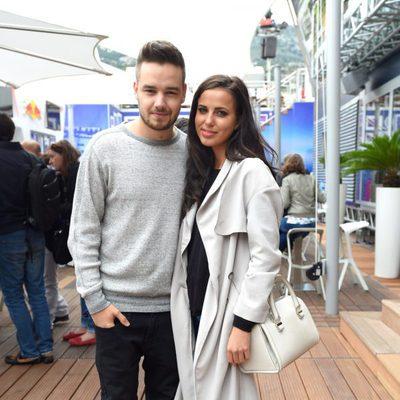 Liam Payne con su novia Sophia Smith en el Grand Prix de Mónaco 2015