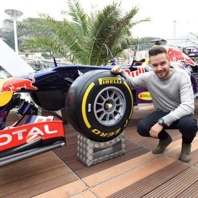 Liam Payne en el Grand Prix de Mónaco 2015