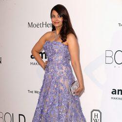 Aishwarya Rai en la gala amfAR del Festival de Cannes 2015