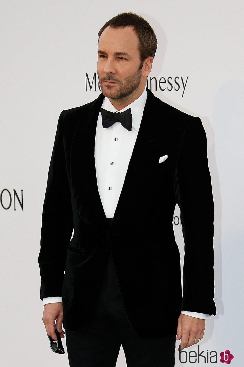 Tom Ford en la gala amfAR del Festival de Cannes 2015