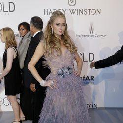 Paris Hilton en la gala amfAR del Festival de Cannes 2015