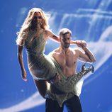 Edurne y Giuseppe di Bella en Eurovisión 2015