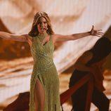 Edurne canta 'Amanecer' en Eurovisión 2015