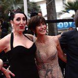 Rossy de Palma y Sophie Marceau en la clausura del Festival de Cannes 2015