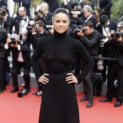Michelle Rodriguez en la clausura del Festival de Cannes 2015