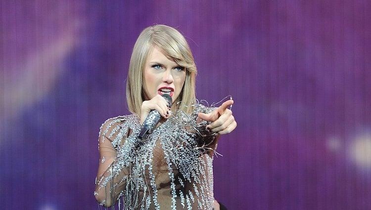Taylor Swift en el concierto BBC Radio 1´s Big Weekend