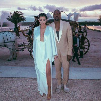 Kim Kardashian y Kanye West se casan de nuevo en Versalles