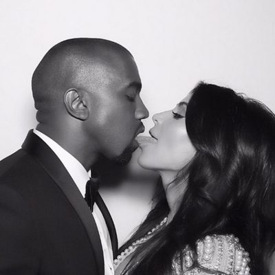 Foto de boda de Kim Kardashian y Kanye West