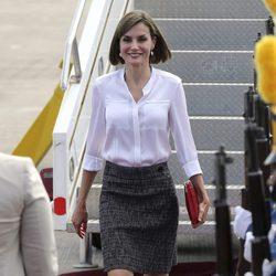 La Reina Letizia llega a Honduras para iniciar su primer viaje de cooperación internacional