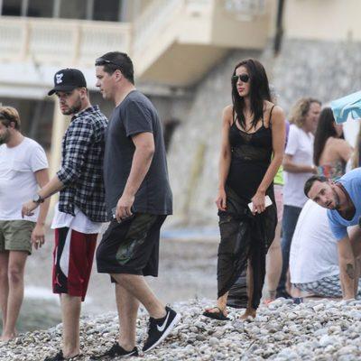 Liam Payne con su novia Sophia Smith de vacaciones en el sur de Francia