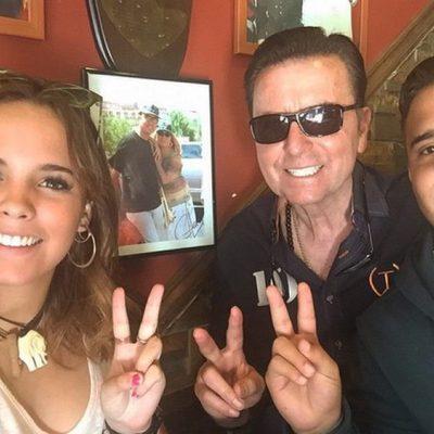 José Ortega Cano en su cuarto permiso carcelario con Gloria Camila y José Fernando