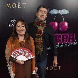 Massiel en el estreno del documental 'Pacha, el arquitecto de la noche'