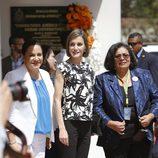 La Reina Letizia visitando el Consultorio Jurídico de la Universidad Nacional Autónoma de Honduras