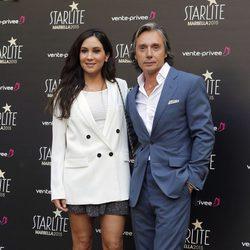 Israel Bayón y Cristina Sainz en la presentación de la Gala Starlite 2015