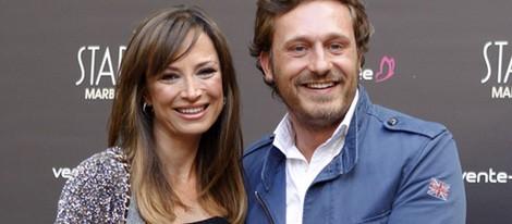 Juan Peña y Sonia González en la presentación de la Gala Starlite 2015