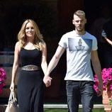 Edurne y David De Gea pasean por Madrid tras Eurovisión 2015