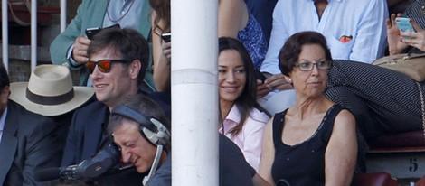 Carlos Latre y Cecilia Gómez en la Feria de San Isidro 2015 en Las Ventas