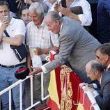 El Rey Juan Carlos en la Feria de San Isidro 2015 en Las Ventas