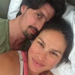 Mireia Canalda y Felipe López, felices tras convertirse en padres por segunda vez