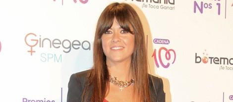 Vanesa Martín en la entrega de los Premios Nos 1 de Cadena 100