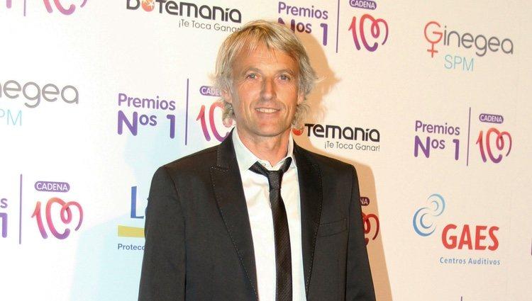 Jesús Calleja en la entrega de los Premios Nos 1 de Cadena 100