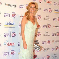 Paula Vázquez en la entrega de los Premios Nos 1 de Cadena 100