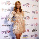 Desiré Cordero en la entrega de los Premios Nos 1 de Cadena 100