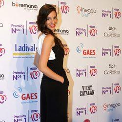 Almudena Cid en la entrega de los Premios Nos 1 de Cadena 100