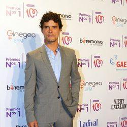 Miguel Abellán en la entrega de los Premios Nos 1 de Cadena 100
