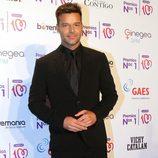 Ricky Martin en la entrega de los Premios Nos 1 de Cadena 100