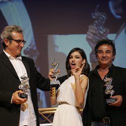 Úrsula Corberó y Eduard Fernández en la gala inaugural del Festival de Alicante 2015