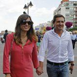 Juan Peña y Sonia González en la Corrida de la Beneficencia 2015