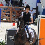 Carlota Casiraghi a lomos de su caballo en Saint-Tropez