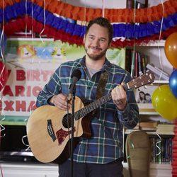 Chris Pratt actuando en la sexta temporada de 'Parks & Recreations'