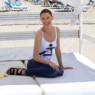 Laura Sánchez, una de las protagonistas de la Pasarela Adlib de Ibiza