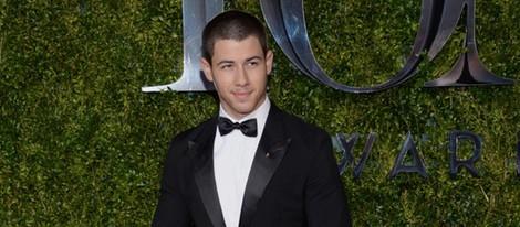 Nick Jonas en la entrega de los Tony Awards 2015