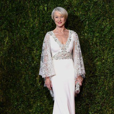 Helen Mirren en la entrega de los Tony Awards 2015