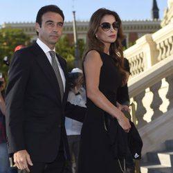 Enrique Ponce y Paloma Cuevas en el funeral de Kardam de Bulgaria
