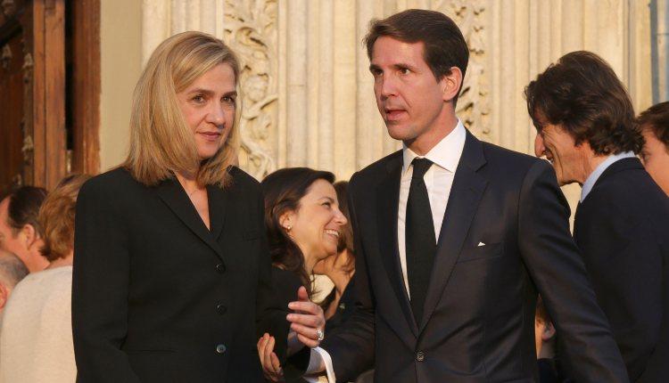 La Infanta Cristina y Pablo de Grecia en el funeral de Kardam de Bulgaria