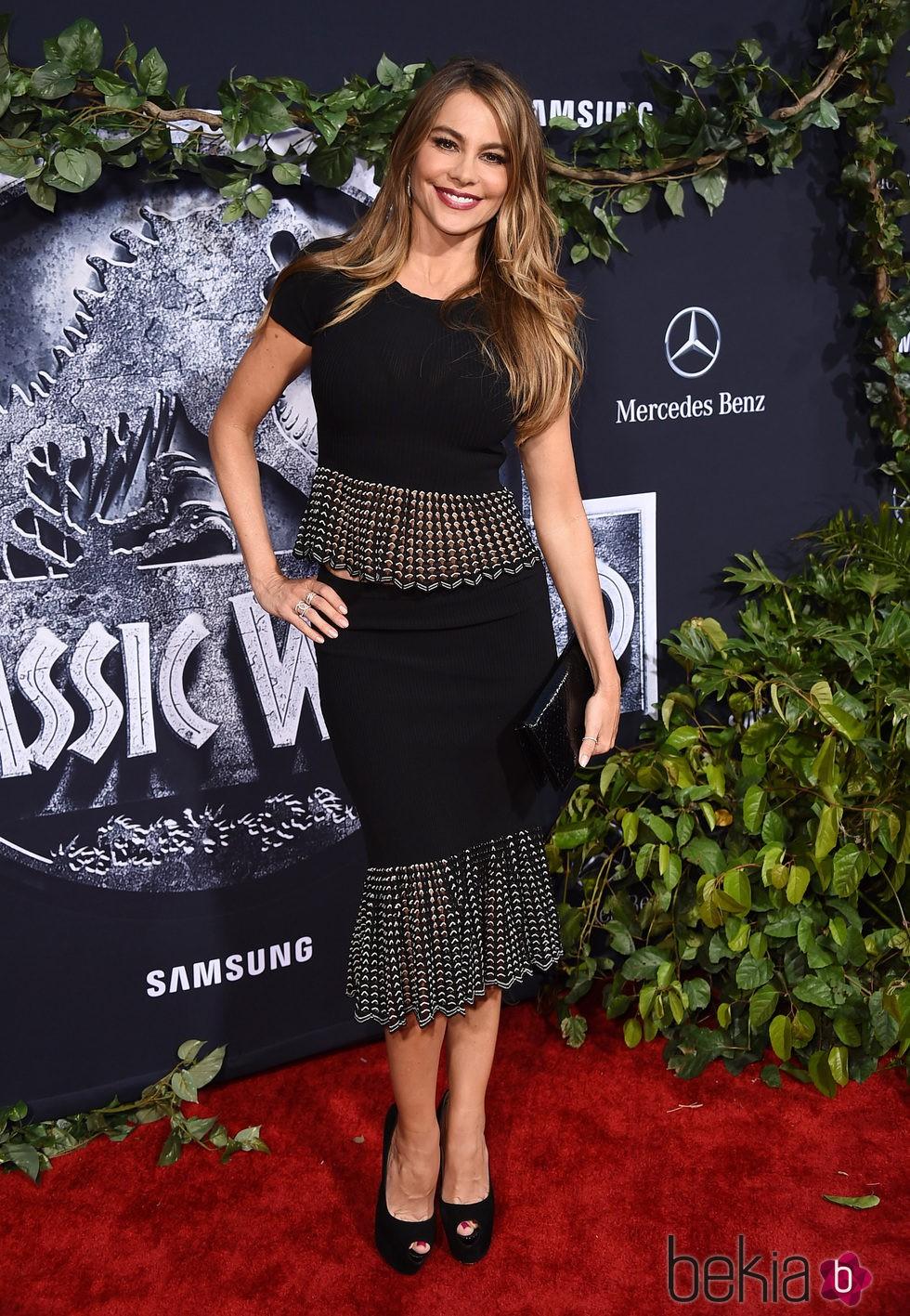 Sofía Vergara en el estreno de 'Jurassic World' en Los Angeles