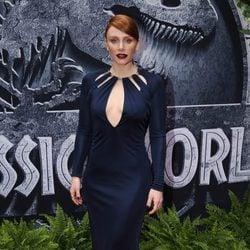 Bryce Dallas Howard en el estreno de 'Jurassic World' en Los Angeles
