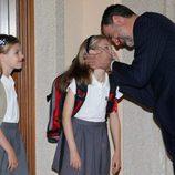 La complicidad del Rey Felipe VI con sus hijas