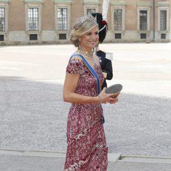 Máxima de Holanda en la boda de Carlos Felipe de Suecia y Sofia Hellqvist