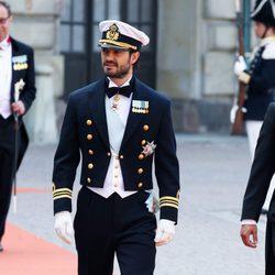 Carlos Felipe de Suecia antes de su boda con Sofia Hellqvist